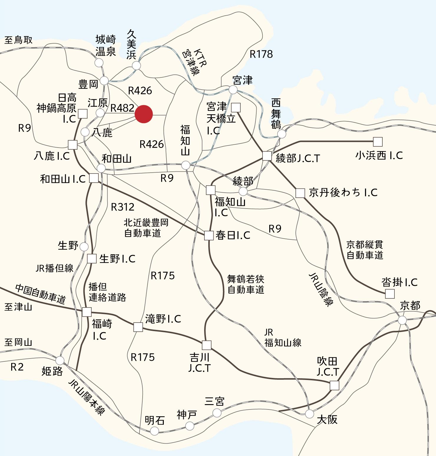 出石広域マップ