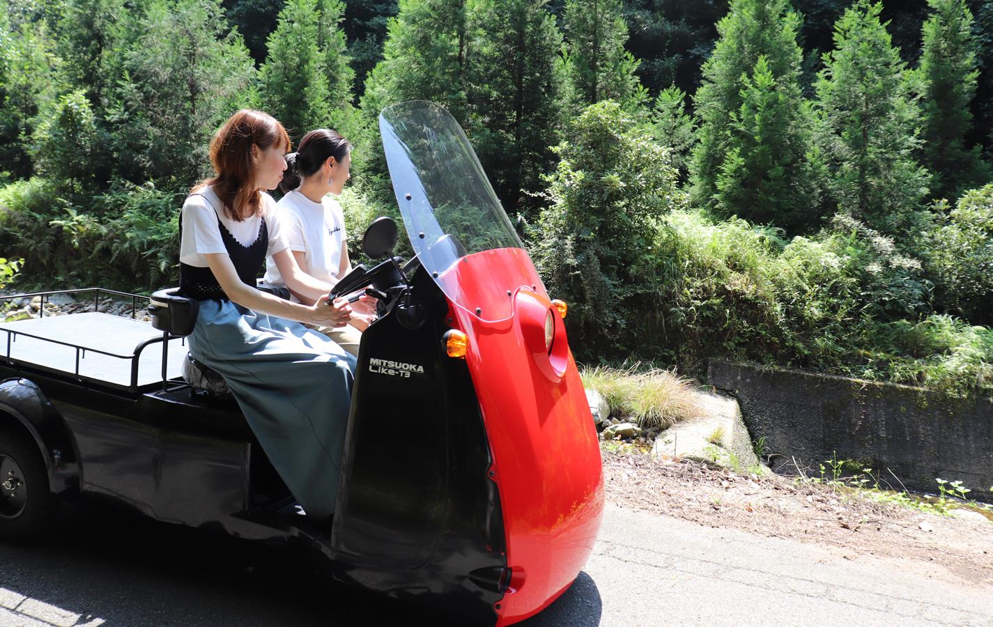 城下町出石を「現代の籠=EV CAR」で行く 出石ご縁結び・御朱印めぐり