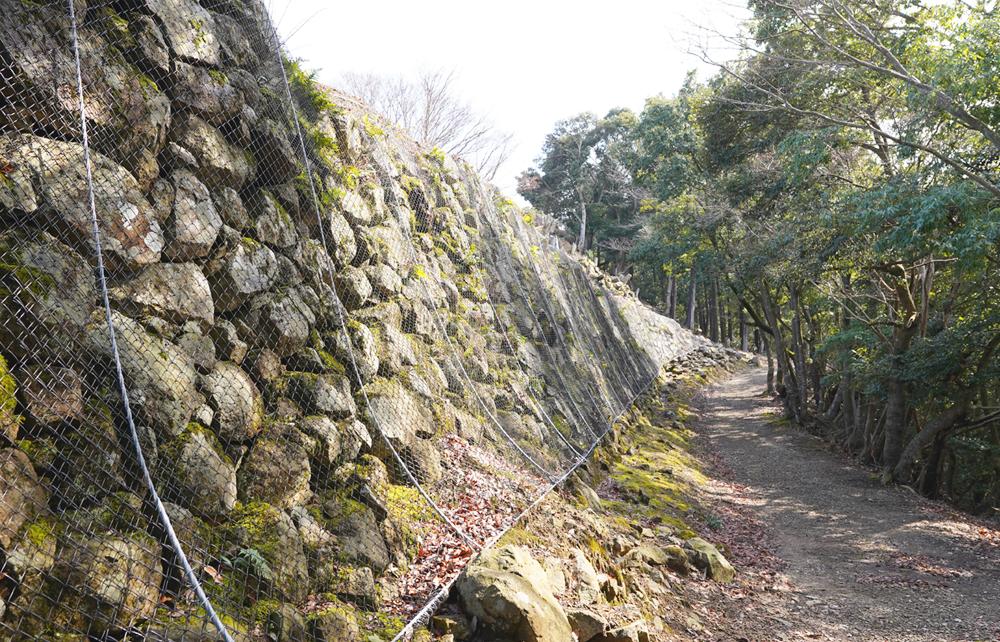有子山城跡