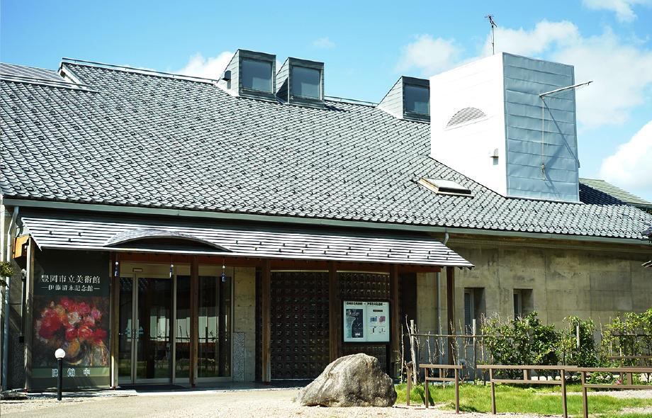 豊岡市立美術館-伊藤清永記念館