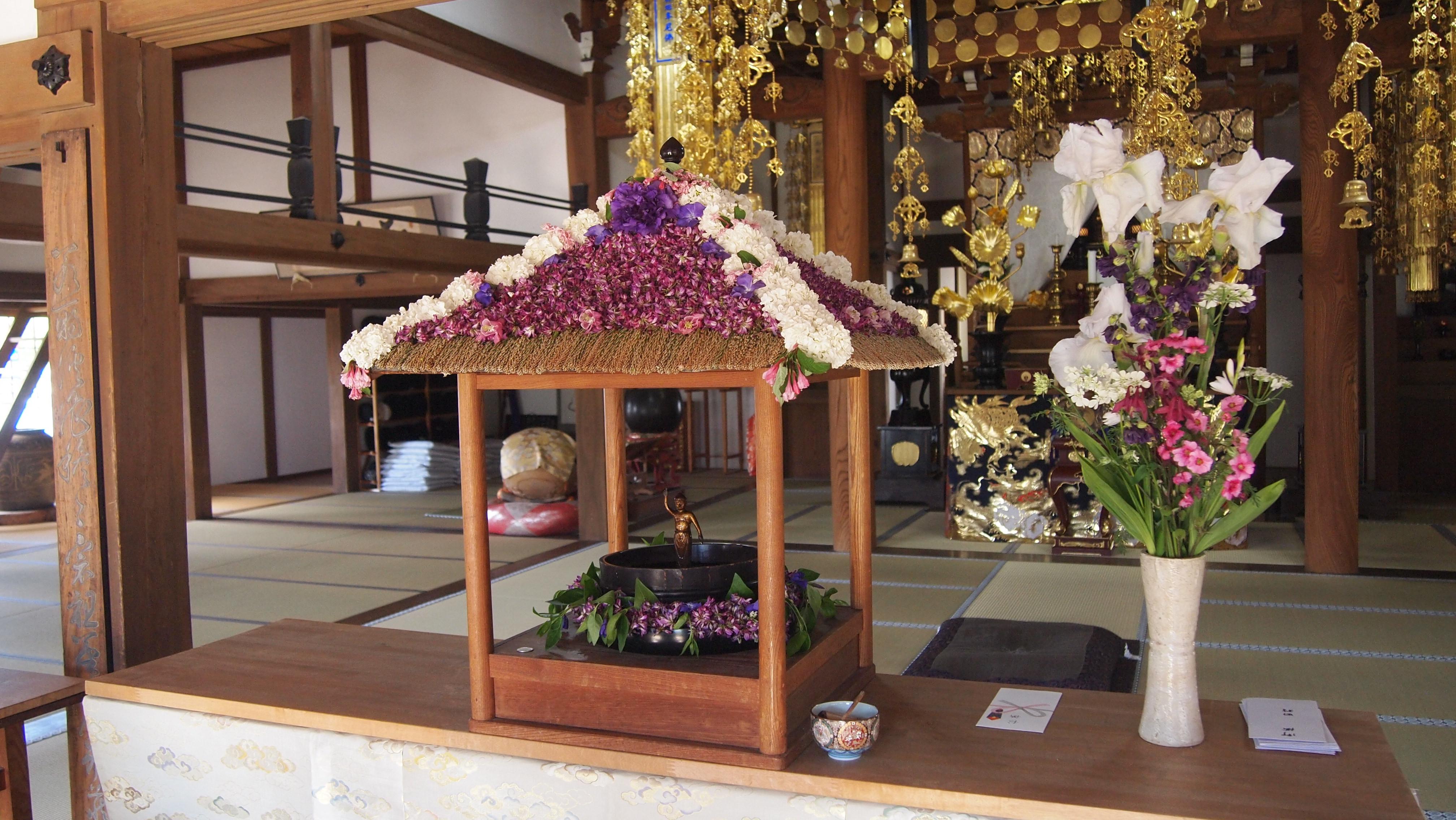 見性寺 お釈迦様 花まつり