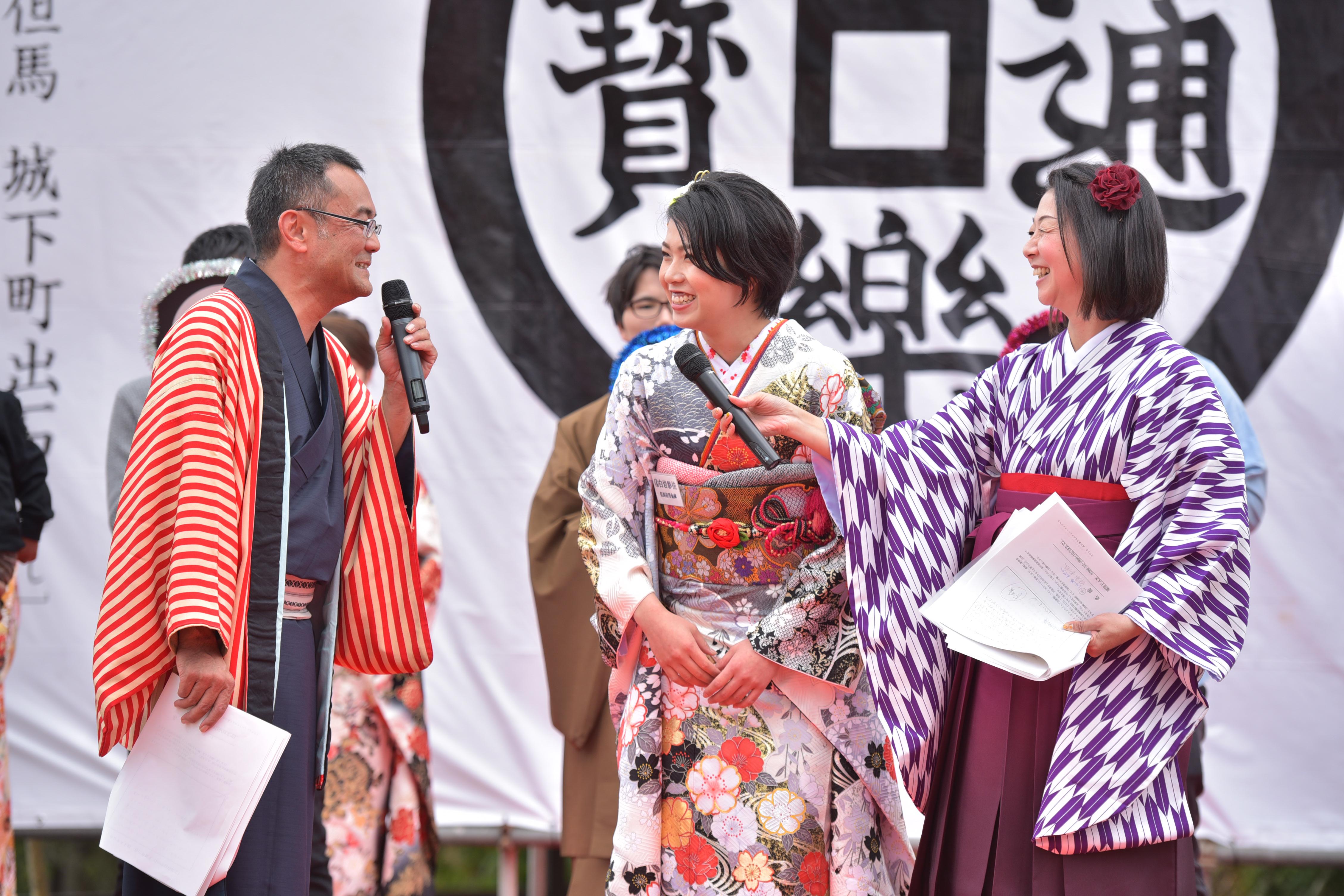出石藩きもの祭り 2018 クイーンコンテスト