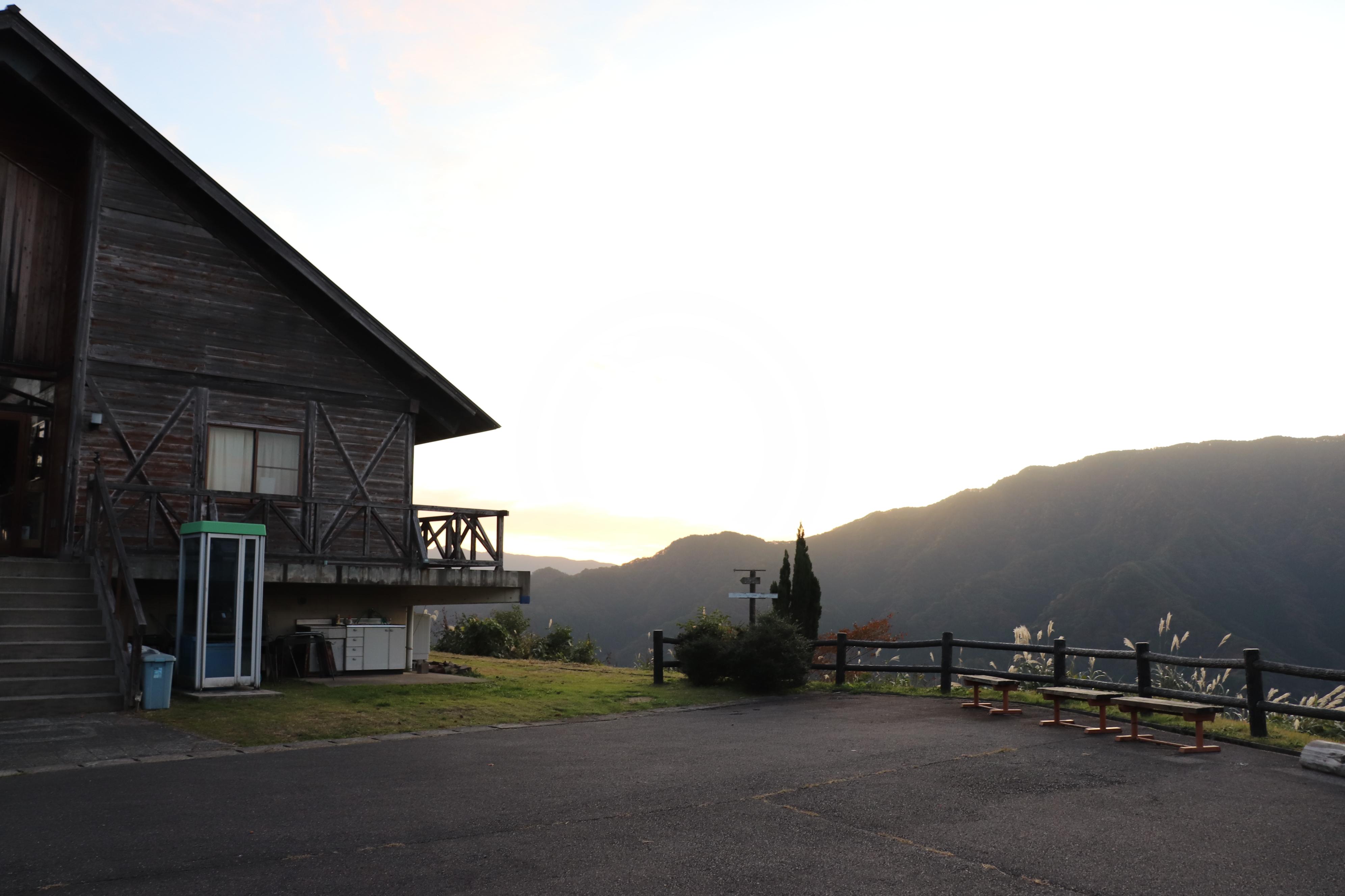 香美町 小代 吉滝キャンプ場