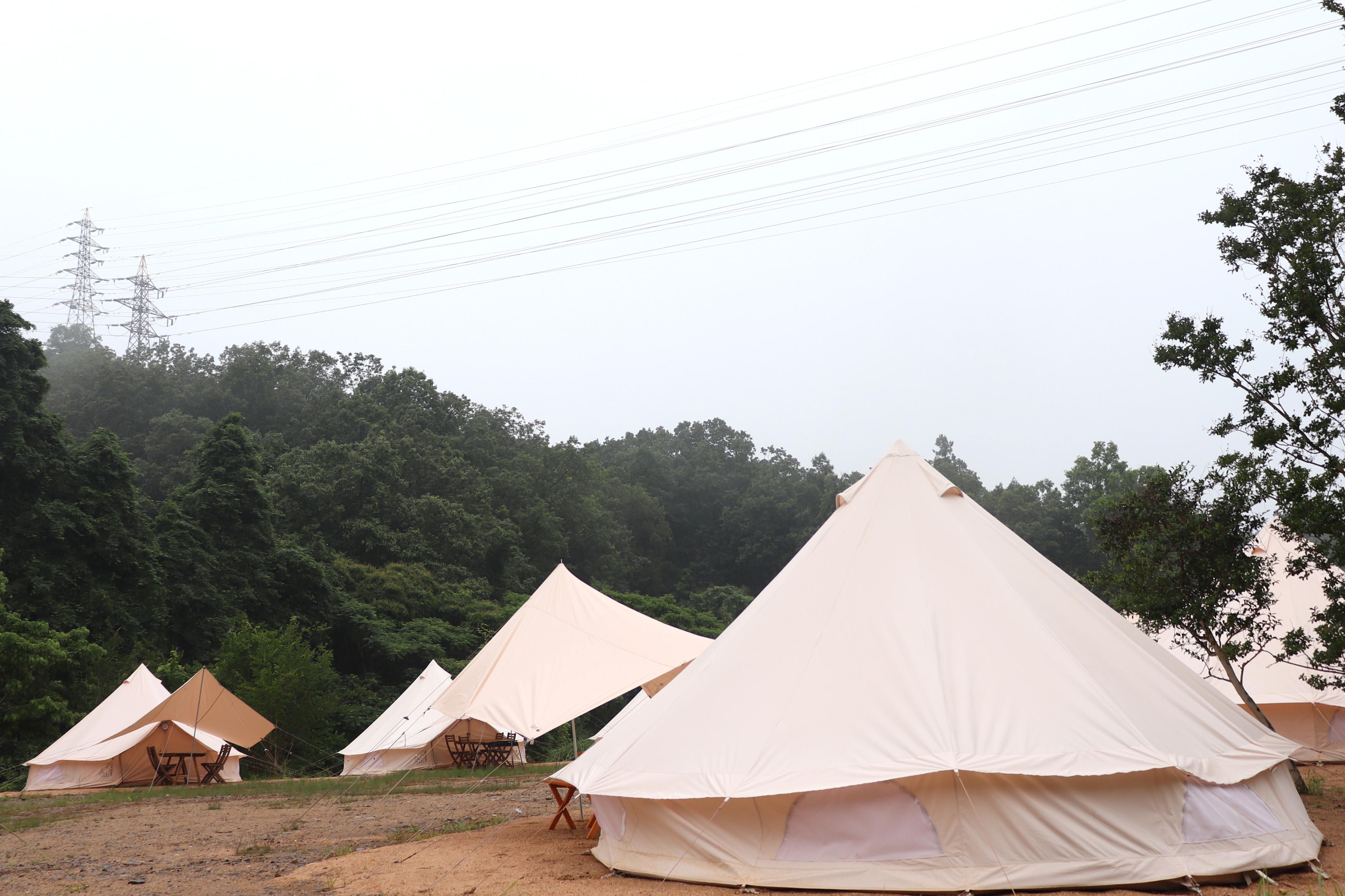 温楽の森 テント