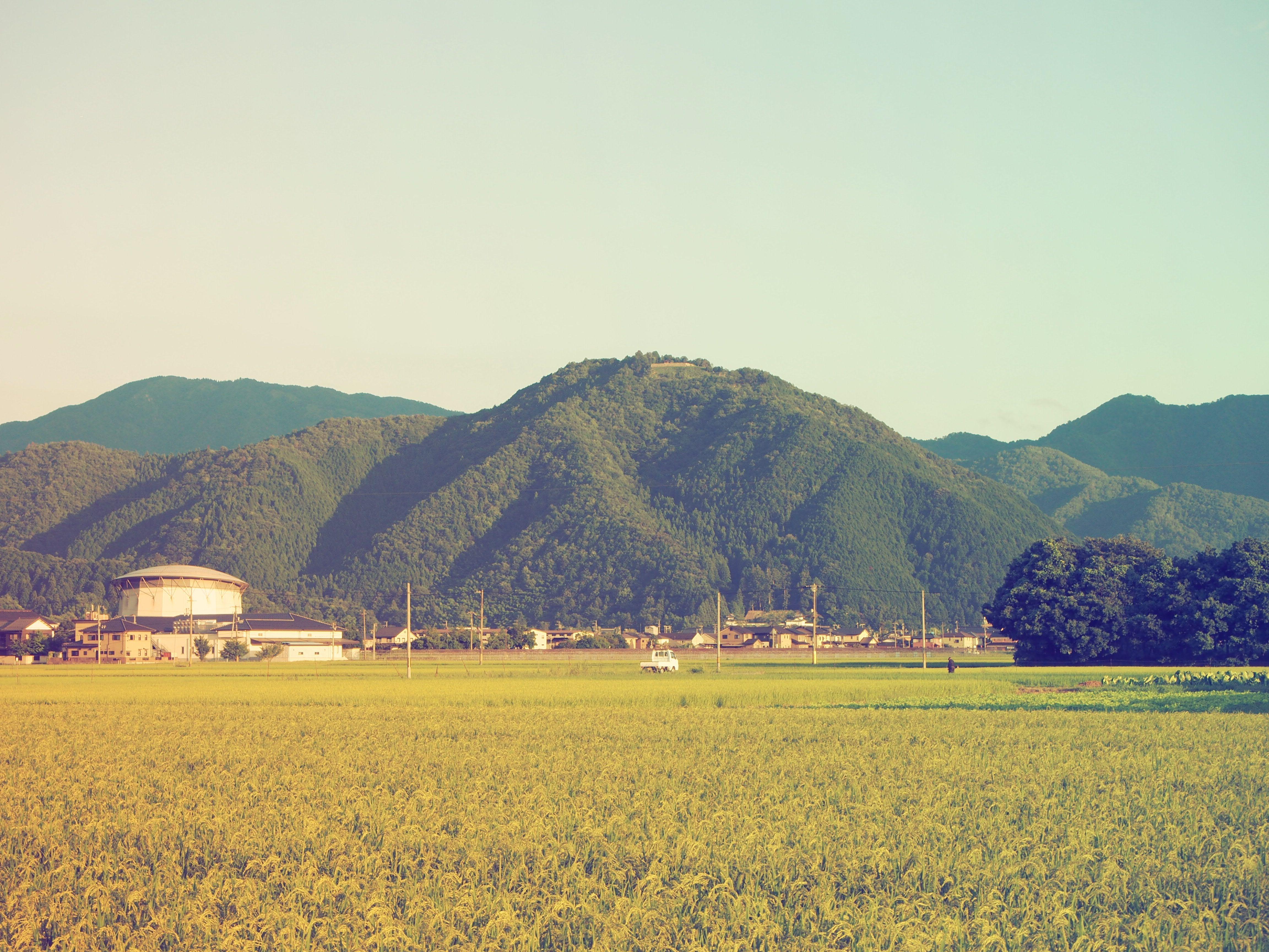出石 田園風景